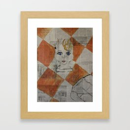 Baby Doll Framed Art Print