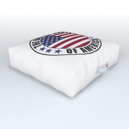The United States of America - USA Outdoor Floor Cushion