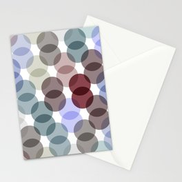 Polka dot pattern. dot on white background Stationery Cards