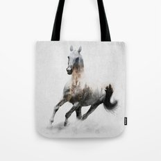 Galloping Horse Tote Bag