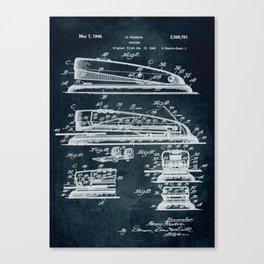 1940 Stapler patent art Canvas Print