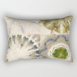 Dissonance Castle In The Air Flowers  ID:16165-082458-79050 Rectangular Pillow
