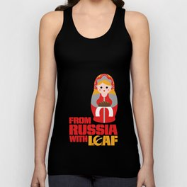 from Russia with loaf Unisex Tank Top