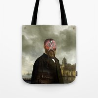 cthulhu Tote Bags featuring Cthulhu by DIVIDUS