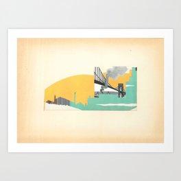 Brooklyn Summer Art Print
