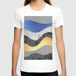Undulating texture IV T-shirt