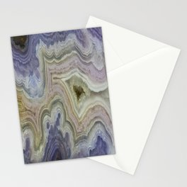 Royal Aztec Lace Agate Stationery Cards