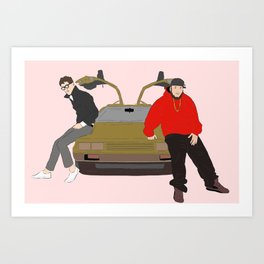 Chromeo - Tha Funk Lordz Art Print
