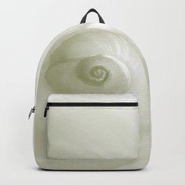 Beautiful White Shell #society #decor #buyart Backpack