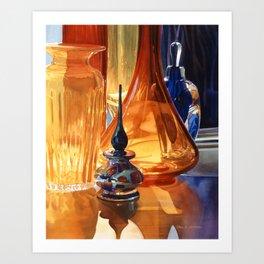"""""""Hide & Seek"""" watercolor by Paul Jackson Art Print"""