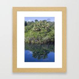 Relaxing Lagoon Framed Art Print