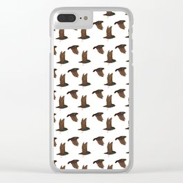 starlings Clear iPhone Case