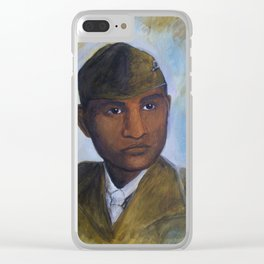 Ira Hayes Clear iPhone Case
