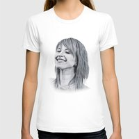 hayley williams T-shirts featuring Hayley Williams Portrait. by Dioptri Art