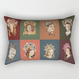 The Saints of Sunnydale  Rectangular Pillow