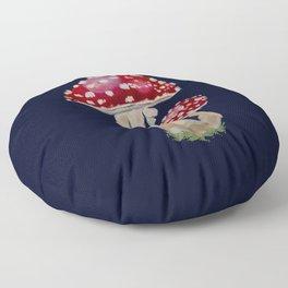 Fly Agaric Floor Pillow
