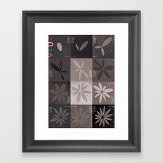 poster calendar 2016  Framed Art Print