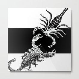 A Scorpion War Metal Print