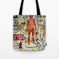 Alien Abduction: Toshiro Mifune Tote Bag