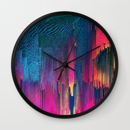 Party Puke Wall Clock