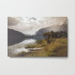 Light in Norway Metal Print