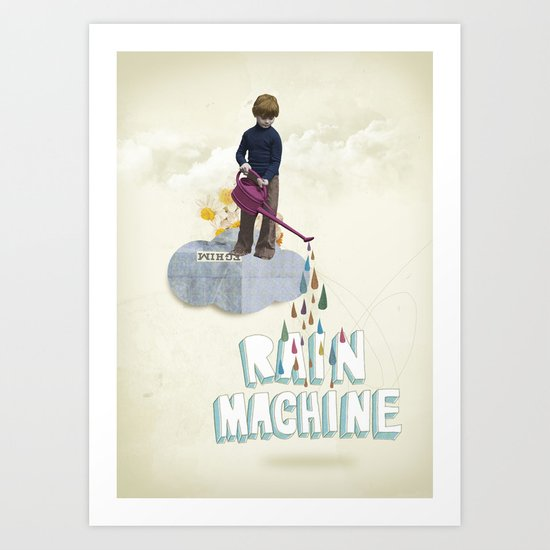 Rain Machine Art Print