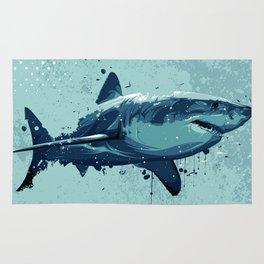 Guppy   Great White Shark Rug