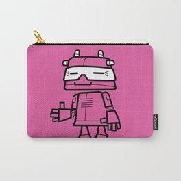 Ze Robot, Pink :) Carry-All Pouch