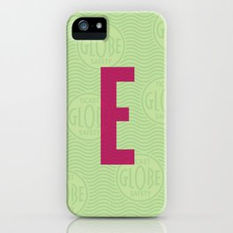 E Ticket iPhone Case