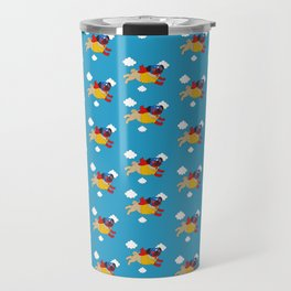 Lucha Libre Pug Travel Mug