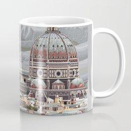 Cathedral Santa Maria del Fiore, pixel art Coffee Mug