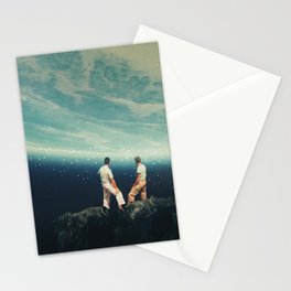 The Earth was crying and We were there Stationery Cards