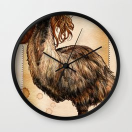 Sweet Dee, the Big, Flightless Bird Wall Clock