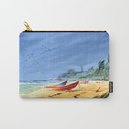 Sudden Storm at Maunabo Beach Puerto Rico Carry-All Pouch