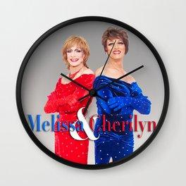 Cherilyn & Melissa Stratman Publicity Image Wall Clock