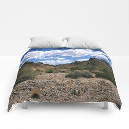 Red cloud mining district, Yuma, Arizona Comforters