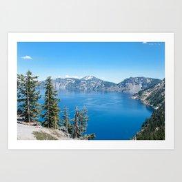 Crater Lake National Park, Oregon Art Print