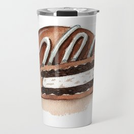 Chocolate Covered Cookie Travel Mug
