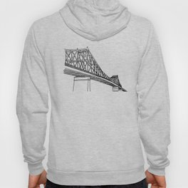 Montreal - Pont Jacques-C - Black Hoody