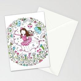 Sweet Ballerina Stationery Cards