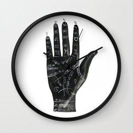 Palmistry no.1 Wall Clock