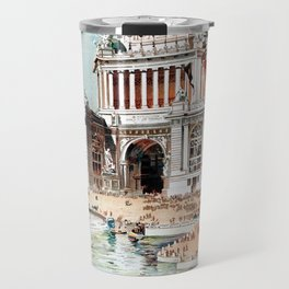 Vintage 1893 Chicago World's fair expo Travel Mug