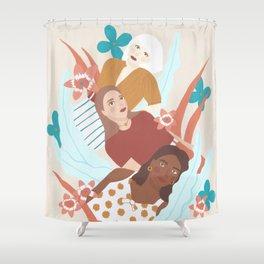 Halcyon Shower Curtain