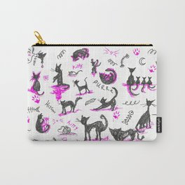 Cat's Meow Carry-All Pouch