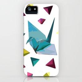 Origami carnival iPhone Case