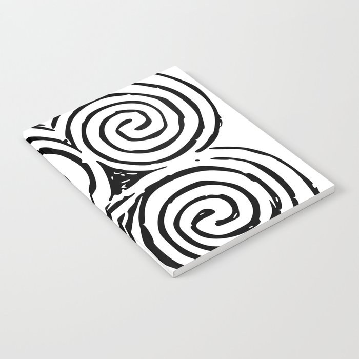Newgrange Celtic Triskelion Notebook