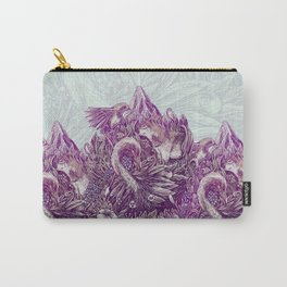 Peaceful Jungle Carry-All Pouch