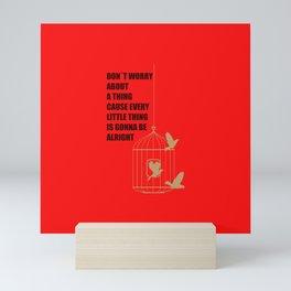 Three Little Birds Mini Art Print