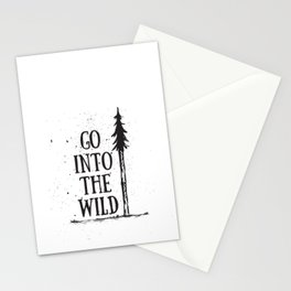 Go Into The Wild Stationery Cards