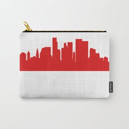 I Was Born In Charlotte Carry-All Pouch